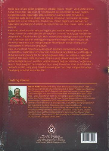 Cover Belakang Buku Fraud dan Korupsi Pencegahan, Pendeteksian, dan Pemberantasannya