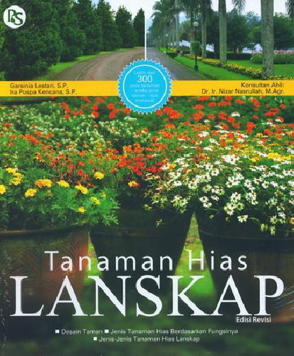 Cover Buku Tanaman Hias Lanskap Edisi Revisi