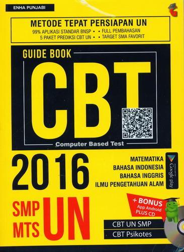 Cover Buku Guide Book CBT UN 2016 SMP-MTS