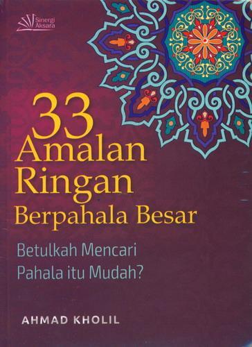 Cover Buku 33 Amalan Ringan Berpahala Besar