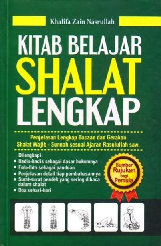 Cover Buku Kitab Belajar Shalat Lengkap (Hard Cover)