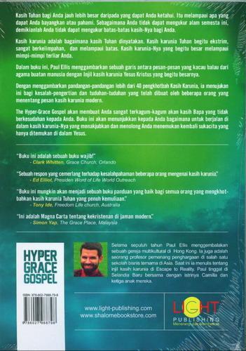 Cover Belakang Buku The Hyper Grace Gospel