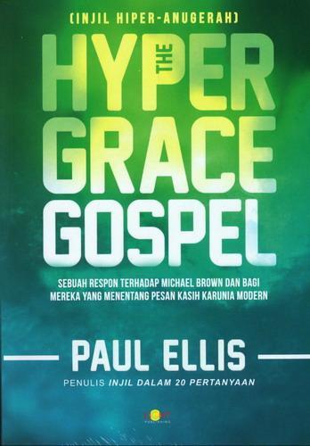 Cover Buku The Hyper Grace Gospel