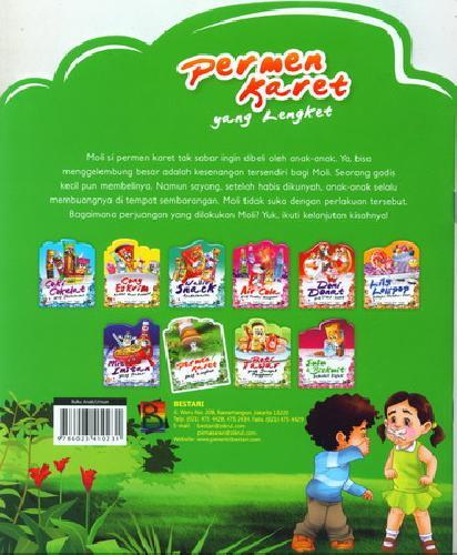 Cover Belakang Buku Permen Karet yang Lengket (full color)
