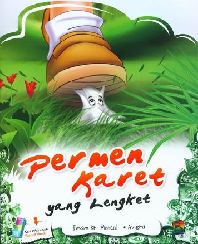Cover Buku Permen Karet yang Lengket (full color)
