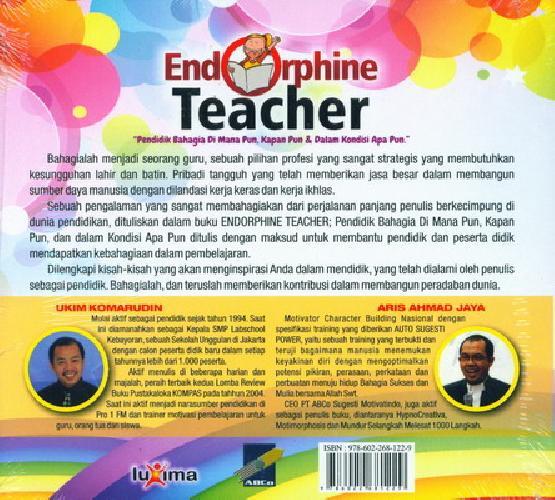 Cover Belakang Buku Endorphine Teacher