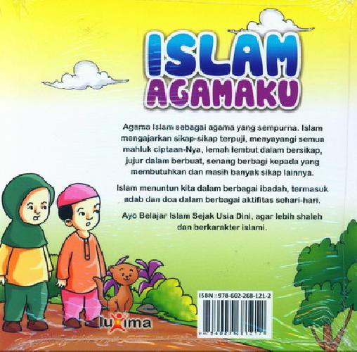 Cover Belakang Buku Seri Belajar Islam Sejak Usia Dini 3 : Islam Agamaku