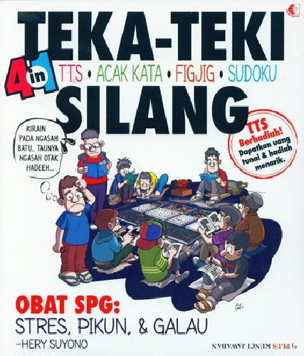 Cover Buku Teka-Teki Silang 4 in 1