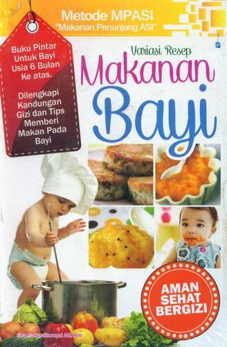Cover Buku Variasi Resep Makanan Bayi