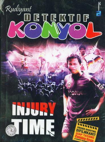 Cover Buku Detektif Konyol Injury Time