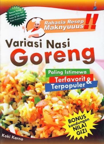 Cover Buku Variasi Nasi Goreng
