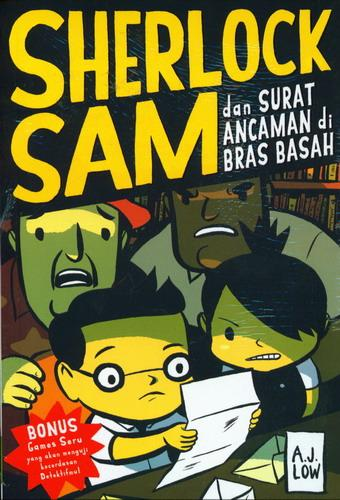 Cover Buku Sherlock Sam dan Surat Ancaman di Bras Basah
