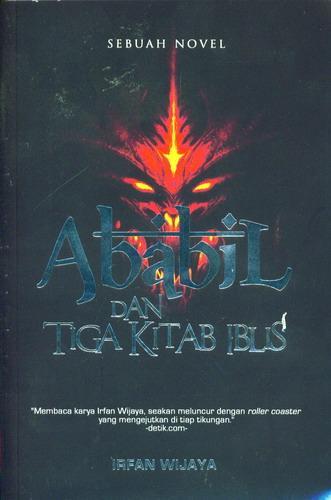 Cover Buku Ababil dan Tiga Kitab Iblis Sebuah Novel