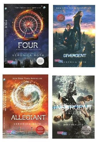 Cover Buku Paket Seri Divergent