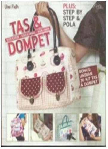 Cover Buku Tas dan Dompet (PLUS: STEP BY STEP & POLA)