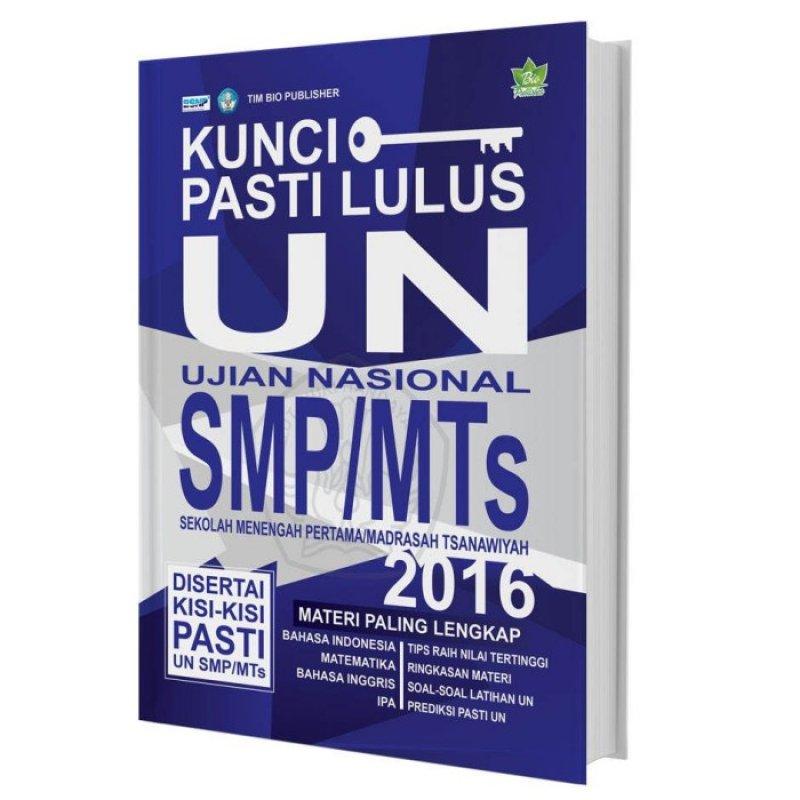 Cover Buku Kunci Pasti Lulus UN SMP/MTs 2016
