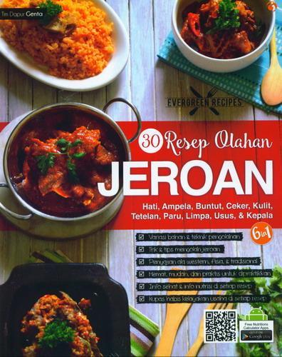Cover Buku 30 Resep Olahan Jeroan