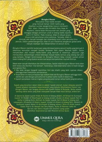 Cover Belakang Buku Bulughul Maram dan Penjelasannya (Hard Cover)
