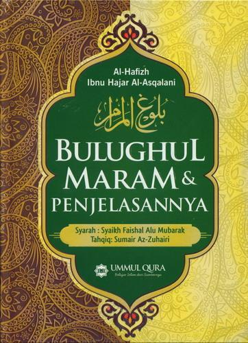 Cover Buku Bulughul Maram dan Penjelasannya (Hard Cover)