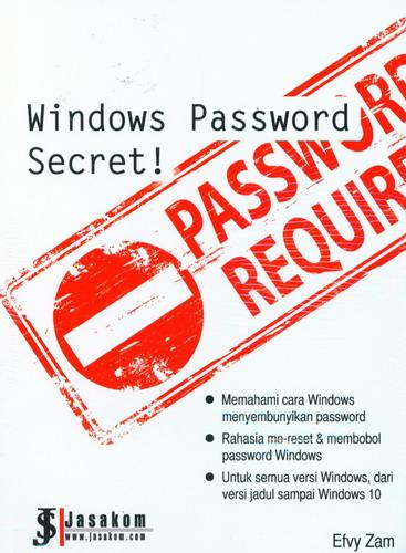 Cover Buku Windows Password Secret