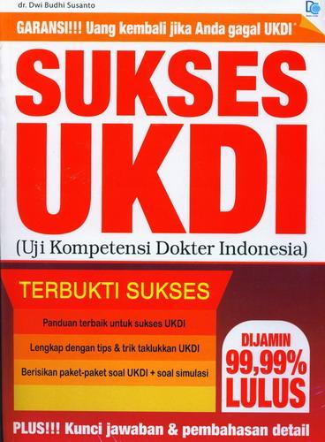 Cover Buku Sukses UKDI (Ujia Kompetensi Dokter Indonesia)