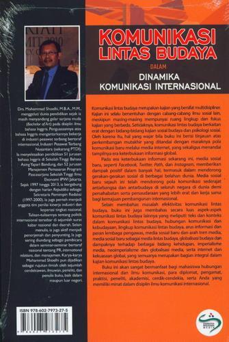 Cover Belakang Buku Komunikasi Lintas Budaya Dalam Dinamika Komunikasi Internasional