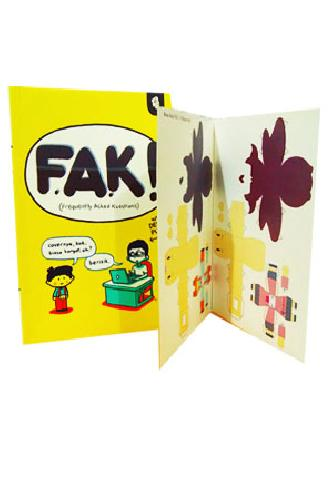 Cover Buku FAK! - Frequently Asked Kuestions (Disc 50%)