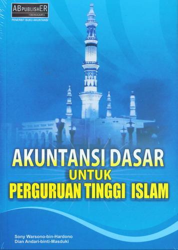 Cover Buku Akuntansi Dasar Untuk Perguruan Tinggi Islam