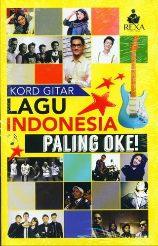 Cover Buku Kord Gitar Lagu Indonesia Paling Oke