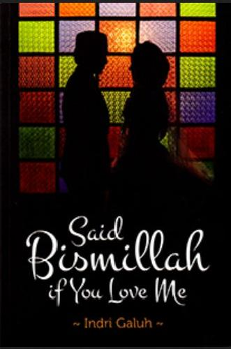 Cover Buku Said Bismillah if You Love Me (Disc 50%)