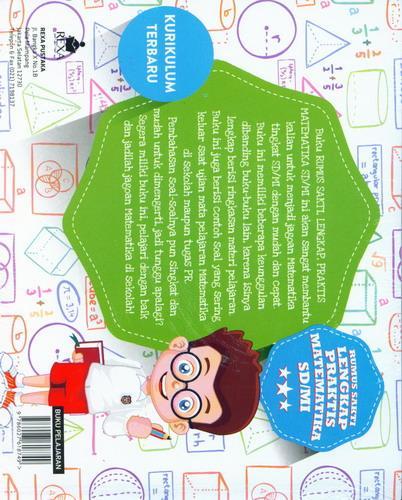 Cover Belakang Buku Rumus Sakti Lengkap Praktis Matematika SD/MI [Promo Kurniaesa & Rexa]