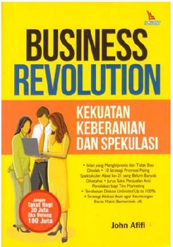 Cover Buku Business Revolution