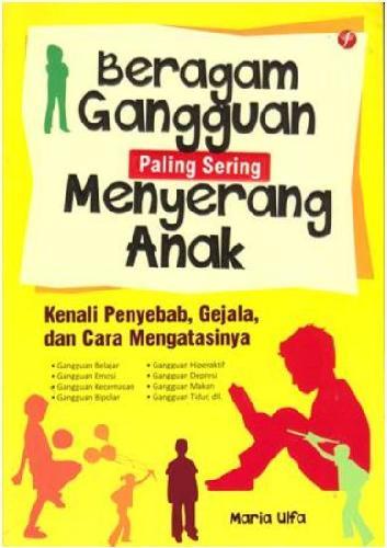 Cover Buku Beragam Gangguan Paling Sering Menyerang Anak