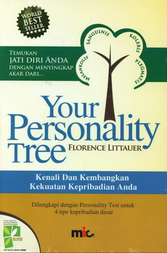 Cover Buku Your Personality Tree