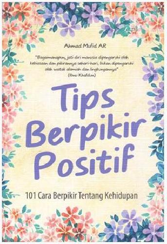 Cover Buku Tips Berfikir Positif