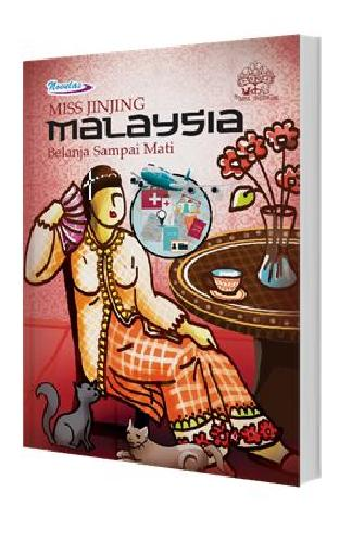 Cover Buku Miss Jinjing Malaysia Belanja Sampai Mati