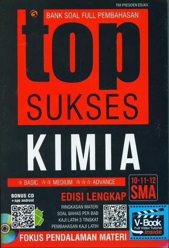 Cover Buku Top Sukses Kimia SMA 10-11-12 Bank Soal Full Pembahasan