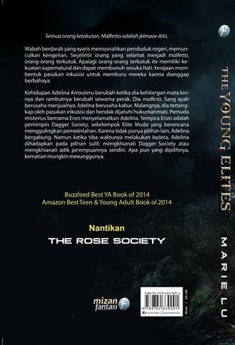 Cover Belakang Buku The Young Elites