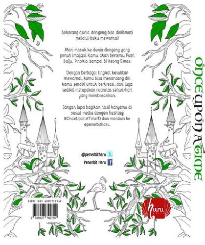 Cover Belakang Buku Once Upon a Time