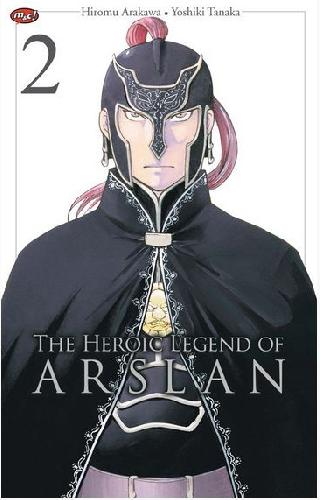 Cover The Heroic Legend of Arslan 02