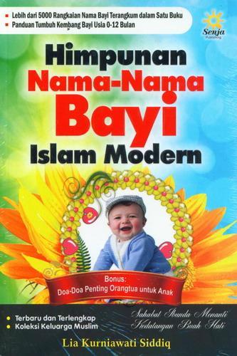 Cover Buku Himpunan Nama-Nama Bayi Islam Modern