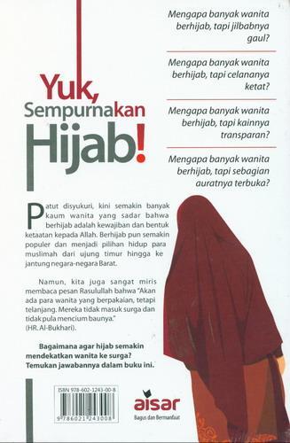 Cover Belakang Buku Yuk Sempurnakan Hijab