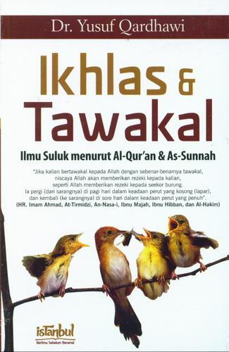 Cover Buku Ikhlas dan Tawakal