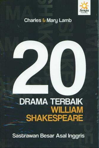 Cover Buku 20 Drama Terbaik William Shakespeare