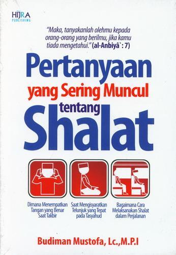 Cover Buku Pertanyaan yang Sering Muncul tentang Shalat
