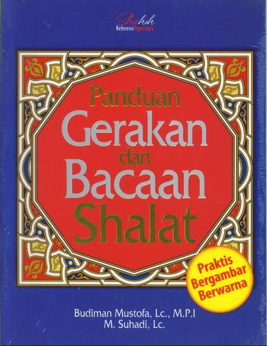 Cover Buku Panduan Gerakan dan Bacaan Shalat