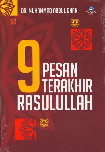Cover Buku 9 Pesan Terakhir Rasulullah