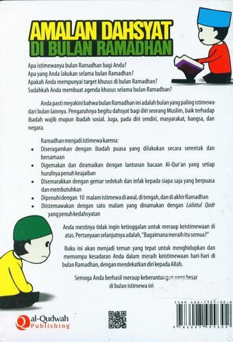Cover Belakang Buku Amalan Dahsyat Di Bulan Ramadhan