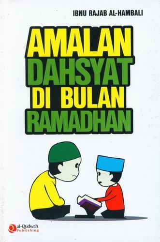 Cover Buku Amalan Dahsyat Di Bulan Ramadhan