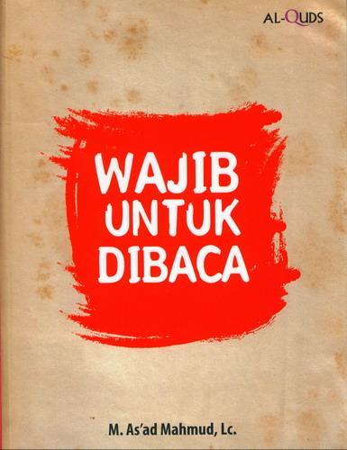 Cover Buku Wajib Untuk Dibaca